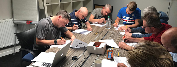 Ashton Building Systems Heights and Harness Training Group