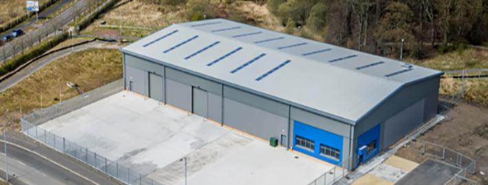 Ashton Building Systems Gartcosh Roof