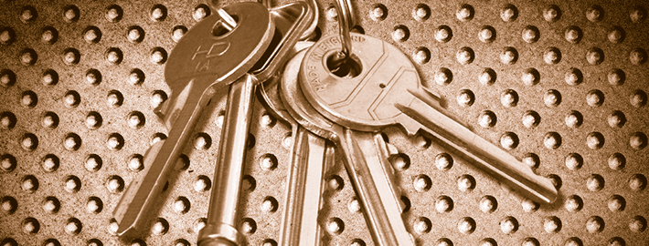 Ashton Building Systems New Keys - Gold