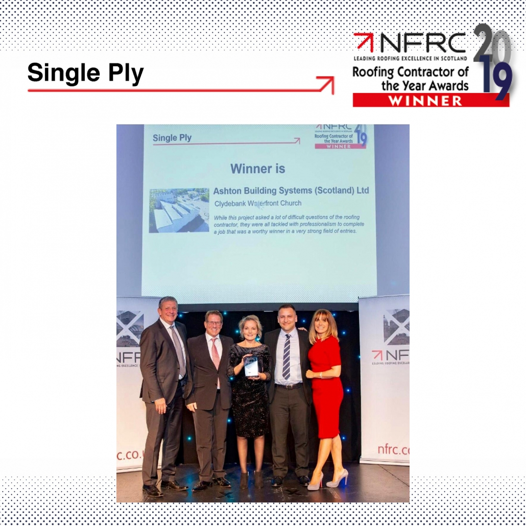 Ashton Building Systems NFRC Awards Winners 2