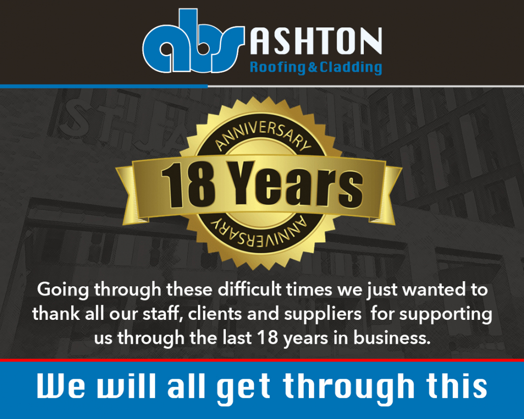 Ashton Building Systems 18 years