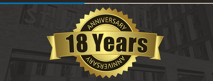Ashton Building Systems 18 years masthead